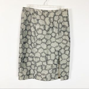 J Crew Skirt with Side Zipper Size 10